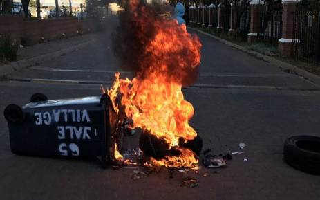 Wits students protest over accommodation