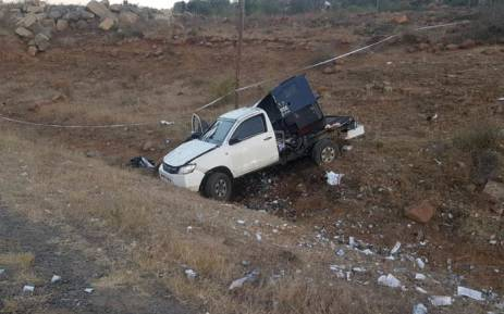 Three security guards were injured when criminals attacked a cash van near Greytown in KwaZulu-Natal. Picture: ER24