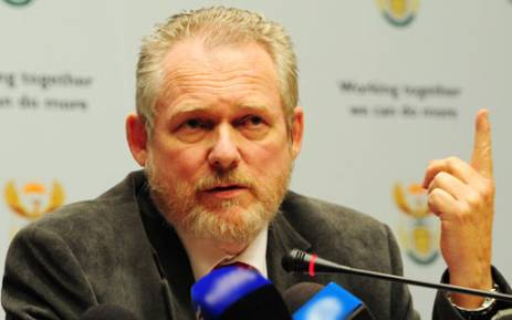 FILE: Minister of Trade and Industry Rob Davies. Picture: EWN.