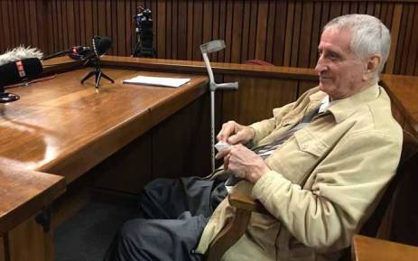 FILE: Jan Rodrigues testifies during the Ahmed Timol inquest on 1 August 2017. Picture: Barry Bateman/EWN