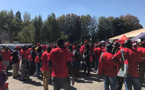 The South African Federation of Trade Unions is holding its founding congress in Boksburg. Picture: Clement Manyathela/EWN.