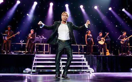 British rock singer Cliff Richard performs at the Ziggo Dome in Amsterdam in 2014. Picture: AFP.