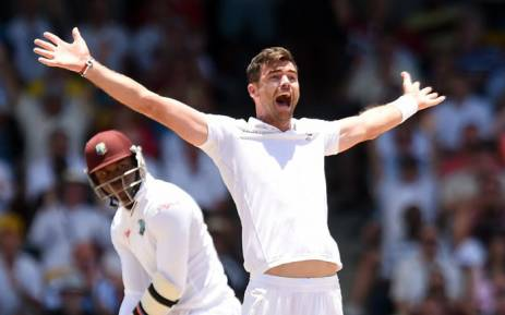 FILE: James Anderson in May 2015. Picture: AFP.