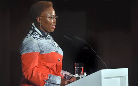 FILE: Minister of Small Business Development Lindiwe Zulu. Picture: Facebook.
