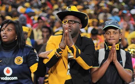FILE: Kaizer Chiefs fans. Picture: Taurai Maduna/EWN