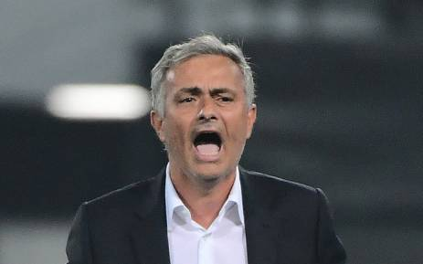 Manchester Uniteds manager Jose Mourinho reacts during the UEFA Europa League football match between Feyenoord Rotterdam and Manchester United at the Feyenoord Stadium in Rotterdam on 15 September, 2016. Picture: AFP