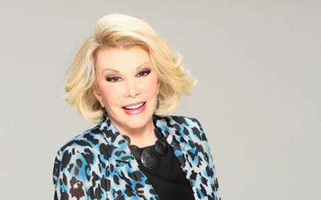 FILE: Comedian Joan Rivers. Picture: Facebook.com.