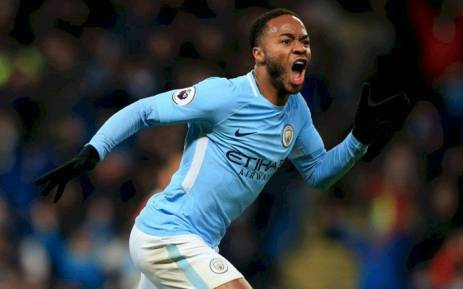 FILE: Manchester City's Raheem Sterling celebrates a goal. Picture: Facebook.