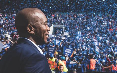 DA leader Mmusi Maimane says the electorate should decide on government's future. Picture: Twitter/@Our_DA.