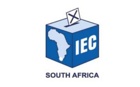 Independent Electoral Commission (IEC) logo. Picture: @IECSouthAfrica