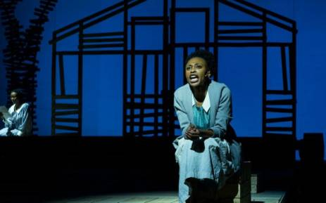 Didintle Khunou plays Celie in the musical adaptation of 'The Color Purple' now showing at the Joburg Theatre. Picture: @enroCpics