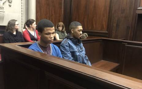 Nigel and Johaness Plaaitjies in the Western Cape High Court on 4 December 2017. Picture: Shamiela Fisher/EWN