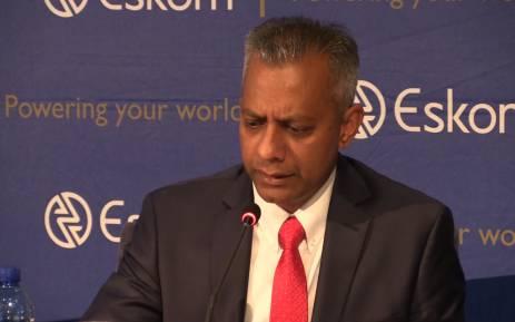 Eskom finance chief with Gupta links suspended