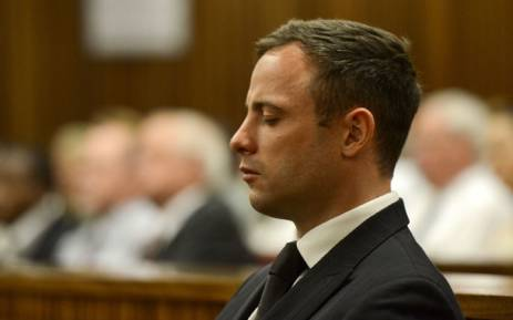 FILE: Oscar Pistorius in the High Court in Pretoria on 21 October 2014. Picture: Pool.