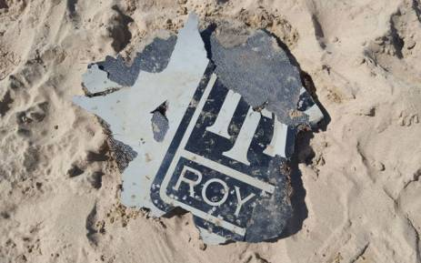 Pretoria-based archaeologist Neels Kruger came across possible MH370 debris near a lagoon in Mossel Bay on 21 March 2016. Picture: Supplied.