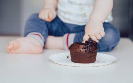 How to get baby to sleep more: Feed solids early, study suggests