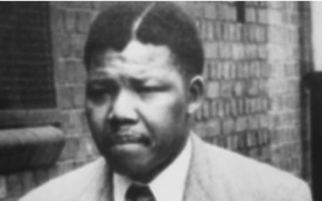 A file picture of Nelson Mandela in 1961. Picture: AFP.