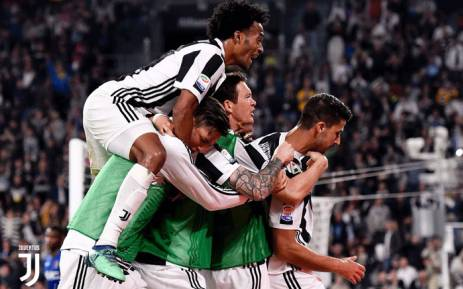 Juventus Players Celebrate A Goal Picture Juventusfc Twitter