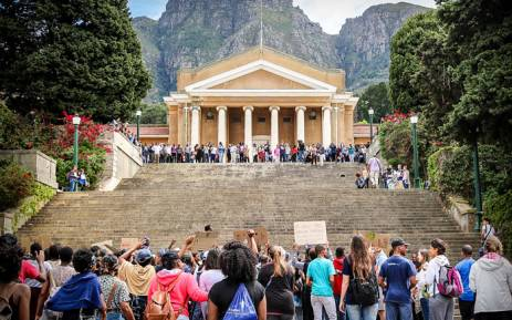 FILE: UCT upper campus. Picture: EWN.