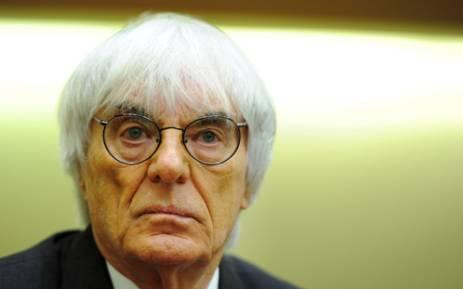 Bernie Ecclestone. Picture: AFP