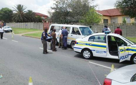 Police are still searching for five suspects after a shootout with nine armed men in Kempton Park. Picture: Shain Germaner/EWN