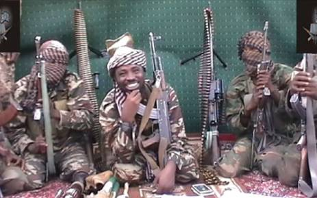 A screengrab taken on 25 September, 2013 from a video distributed through an intermediary to local reporters and seen by AFP, shows a man claiming to be the leader of Nigerian Islamist extremist group Boko Haram Abubakar Shekau. Picture: AFP.