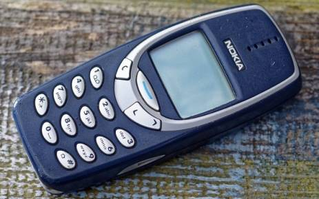 The Nokia 3310. Picture: Twitter/@alangdon17.