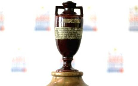 FILE: The Ashes urn. Picture: AFP
