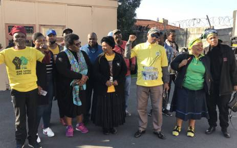 ANC supporters met with Western Cape leaders during a nationwide Thuma Mina campaign, on 7 July 2018. Picture: Kevin Brandt/EWN.