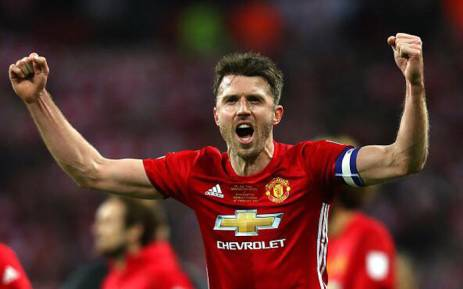 Manchester United midfielder Michael Carrick. Picture: Facebook.