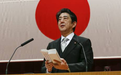 Japanese Prime Minister Shinzo Abe. Picture: EPA.