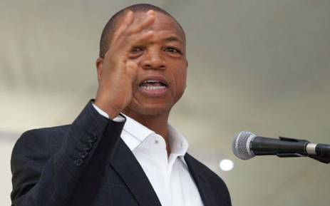 FILE: Premier of the North West Province, Supra Mahumapelo. Picture: GCIS