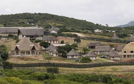 President Zuma's Nkandla homestead.