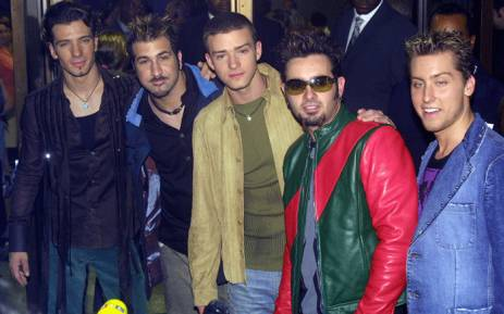 The band *NSYNC arrives for the Michael Jackson concert at Madison Square Garden in New York 07 September 2001. Picture: AFP