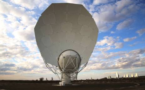 Over 60 operational radio telescopes have been launched at the SKA site outside Carnarvon. Picture: Kevin Brandt/EWN