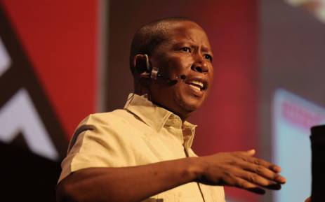 EFF leader Julius Malema at The Gathering: ANC elective conference edition on 23 November 2017. Picture: Christa Eybers/EWN