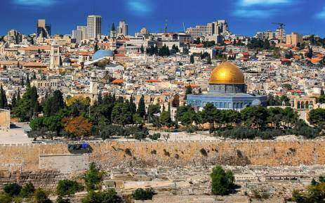 The city of Jerusalem. Picture: Pixabay.com