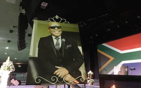 Robbie Malinga funeral service now underway