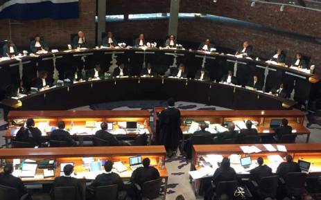 The Economic Freedom Fighters' bid to have President Jacob Zuma face impeachment proceedings in the National Assembly was heard at the Constitutional Court on 5 September 2017. Picture: Christa Eybers/EWN.