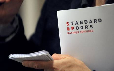 FILE: A Standard & Poor's document. Picture: AFP