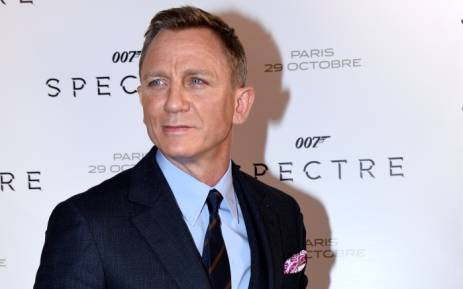 FILE: British actor Daniel Craig poses during the French premiere of the new James Bond film 'Spectre' in October 2015 in Paris. Picture: AFP