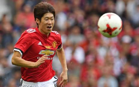 FILE: Manchester United's Ji-sung Park chases the ball during the friendly football match between Manchester United's Legends and Barcelona's Legends at Old Trafford in Manchester, north-west England, on September 2, 2017. Picture: AFP