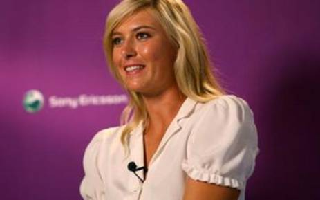 International tennis star Maria Sharapova. Picture: Gallo/Getty Images.