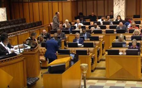Members of Parliament are on debating whether to dissolve Parliament and hold early elections on 5 September 2017. Picture: Youtube.