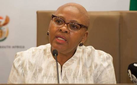 FILE: Minister of Defence and Military Veterans Nosiviwe Mapisa-Nqakula. Picture: GCIS