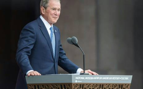 Former US President George W Bush. Picture: AFP