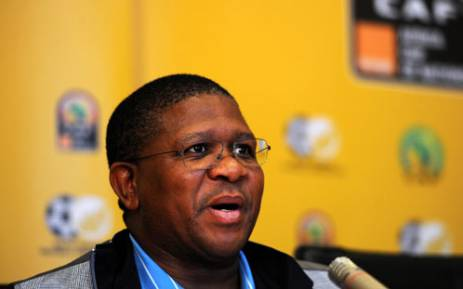 Sports Minister Fikile Mbalula says he has a huge surprise on standby for Bafana players if they win Afcon. Picture: Werner Beukes/SAPA