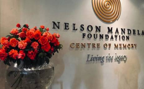 The Nelson Mandela Foundation unveiled an orange and vermilion rose on 8 February named after the anti-apartheid leader. Picture: @NelsonMandela/Twitter.