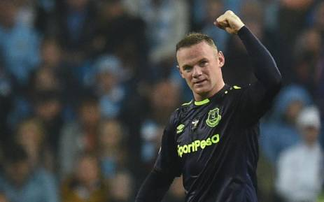 FILE: Everton's English striker Wayne Rooney on 21 August 2017. Picture: AFP.