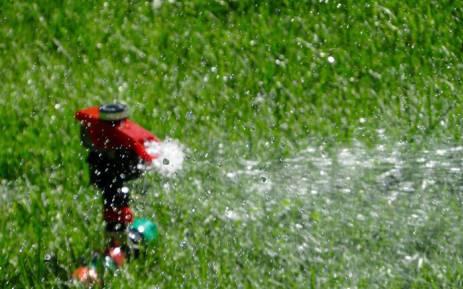 FILE: Sprinkler. Picture: Pixabay.